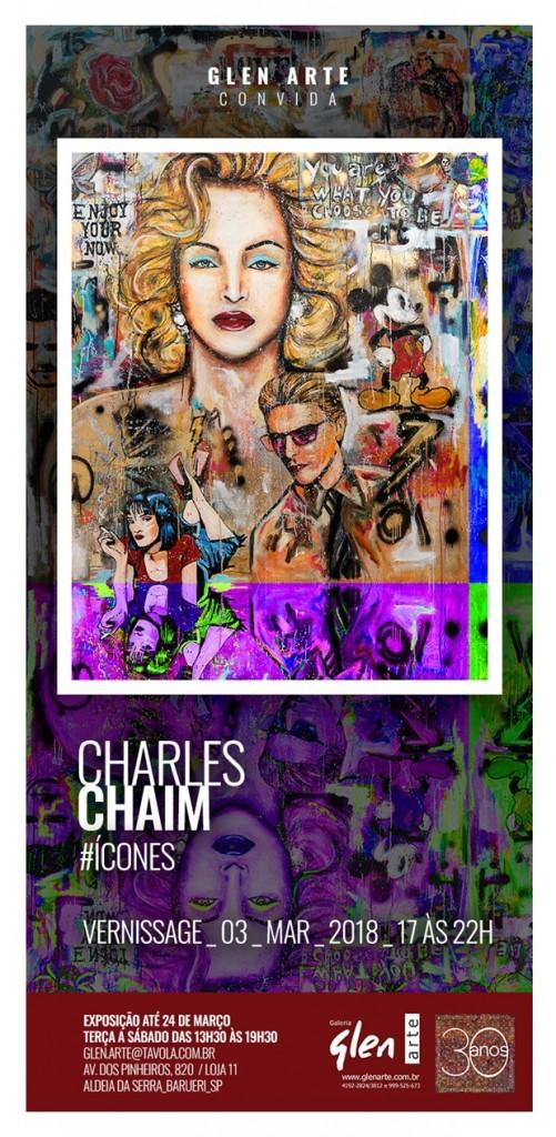 Convite Charles Chaim 03-03-2018 flyer